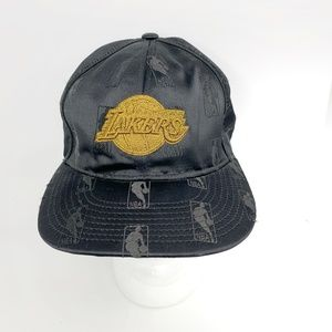 Los Angeles Lakers NBA Allover Logo Hat 7 1/4